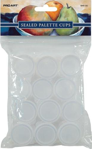 02026897508 Sealed Palette Cups - Pack Of 12