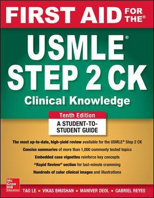 126044029X First Aid For The Usmle Step 2 Ck