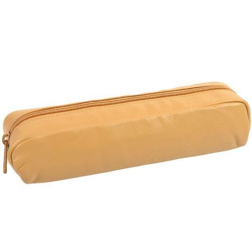 40000214517 Pencil Case Rectangle - Sheepskin Natural