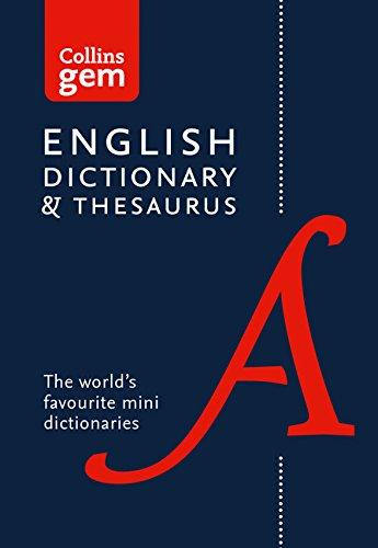 9780008141714 Collins Gem Dictionary & Thesaurus