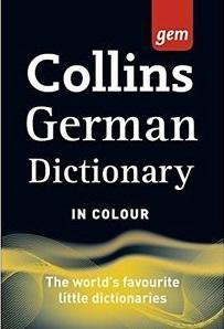 9780008141868 Collins Gem German Dictionary