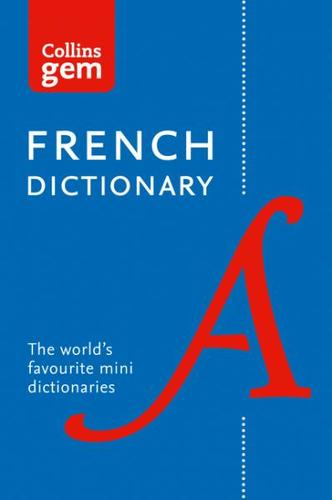 9780008141875 Collins Gem French Dictionary