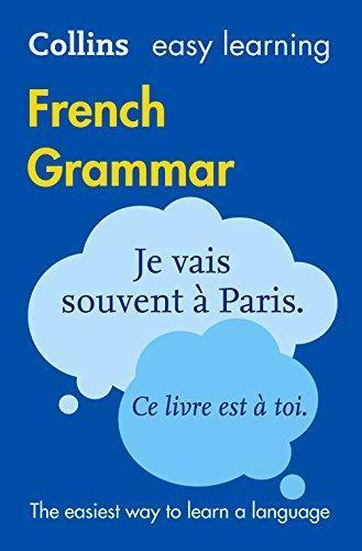 9780008141998 Collins Easy Learning French Grammar