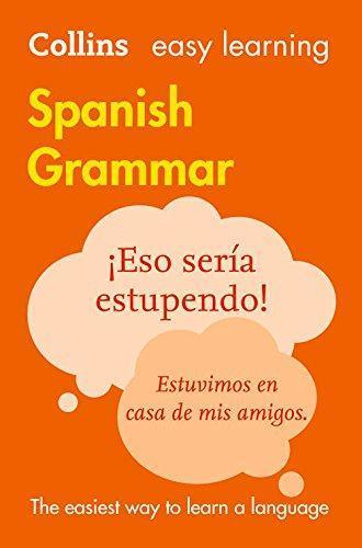 9780008142018 Collins Easy Learning Spanish Grammar