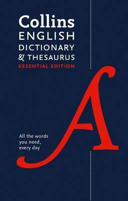 9780008158477 Collins English Dictionary & Thesaurus:  Essential Edition