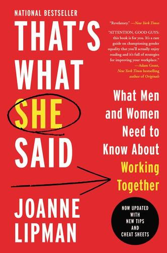 9780062437228 That's What She Said: What Men & Women Need To Know About...