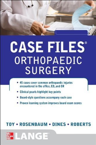 9780071790307 Case Files: Orthopaedic Surgery