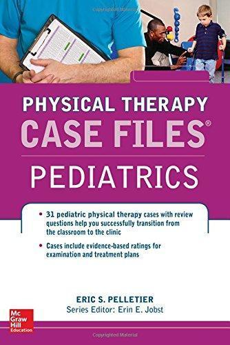 9780071795685 Physical Therapy Case Files: Pediatrics