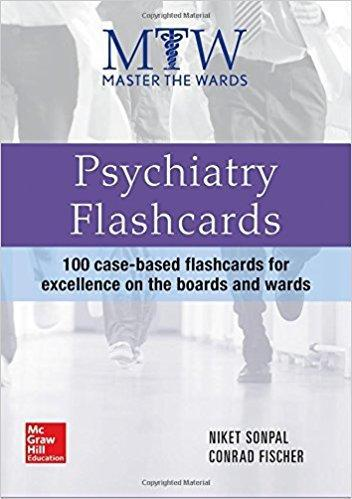 9780071834377 Master The Wards: Psychiatry Flashcards