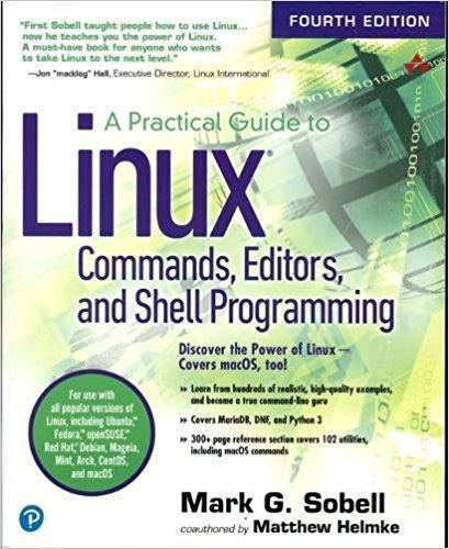 Practical Guide To Linux Commands, Editors & Shell...