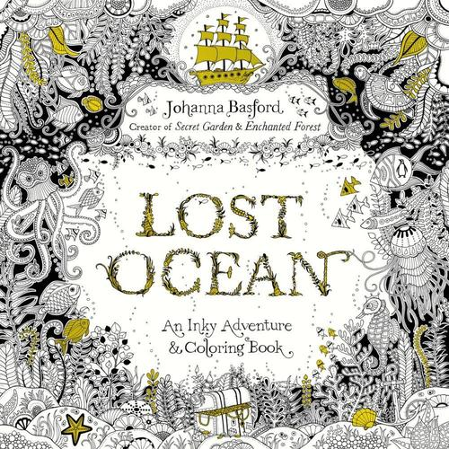 9780143108993 Lost Ocean: An Underwater Adventure & Coloring Book