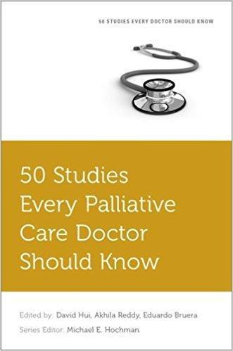 9780190658618 50 Studies Every Palliative Doctor Should Know