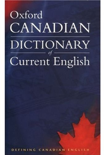 9780195422832 Oxford Canadian Dictionary Of Current English