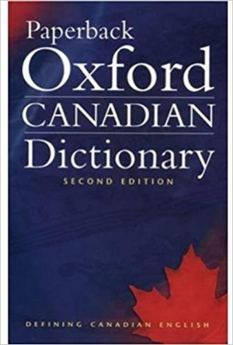 9780195424393 Paperback Oxford Canadian Dictionary
