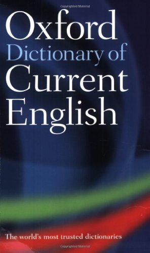 9780198614371 Oxford Dictionary Of Current English