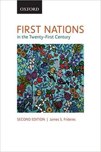 9780199020430 First Nations In The Twenty-First Century