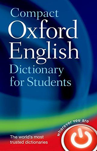 9780199296255 Compact Oxford English Dictionary For Students