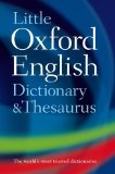 9780199534814 Little Oxford English Dictionary & Thesaurus