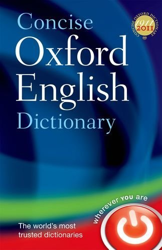 9780199601080 Concise Oxford English Dictionary
