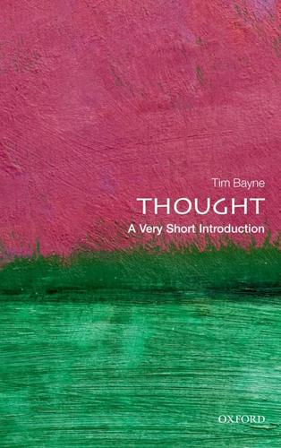 9780199601721 Thought: A Very Short Introduction
