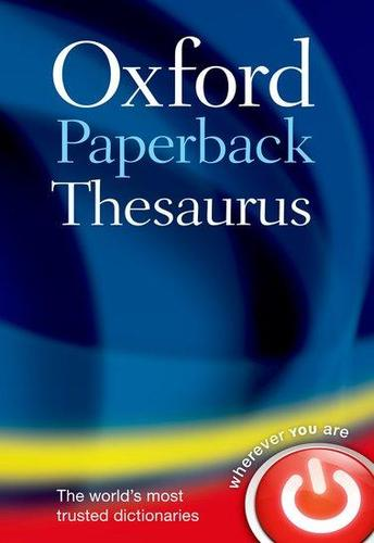 9780199640959 Oxford Paperback Thesaurus