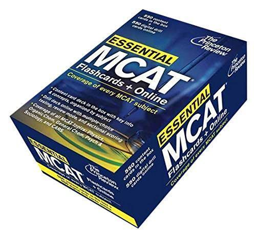 9780307946300 Princeton Review Essential Mcat: Flashcards & Online