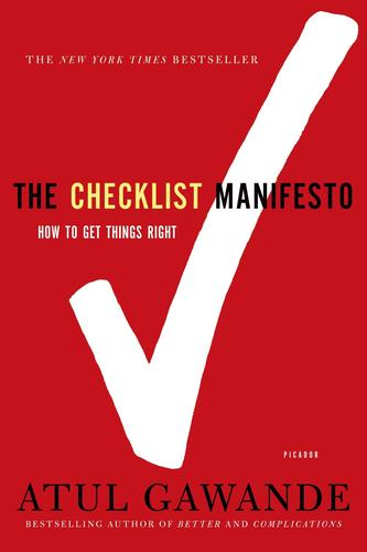 9780312430009 Checklist Manifesto: How To Get Things Right