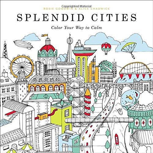 9780316265812 Splendid Cities: Color Your Way To Calm