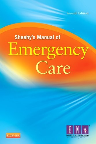 9780323078276 Sheehy's Manual Of Emergency Care