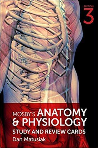 9780323530538 Mosby's Anatomy & Physiology Study & Review Cards