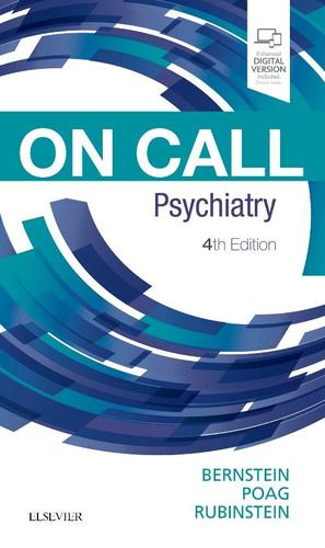 9780323531092 On Call Psychiatry