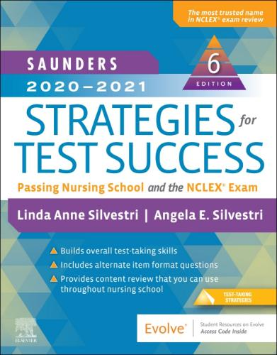 9780323581943 Saunders 2020-2021 Strategies For Test Success: Passing...