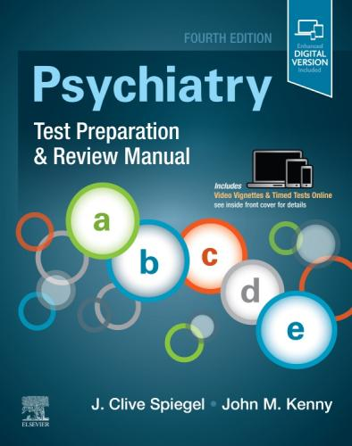 9780323642729 Psychiatry Test Preparation & Review Manual