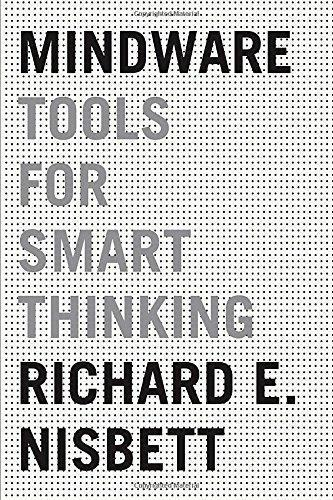 9780385680998 Mindware:  Tools For Smart Thinking