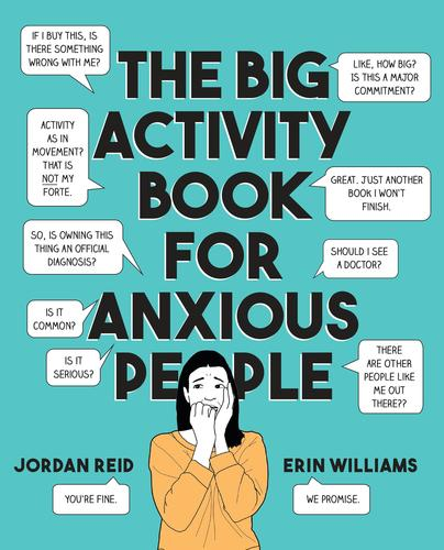 9780525538066 Big Activity Book For Anxious People