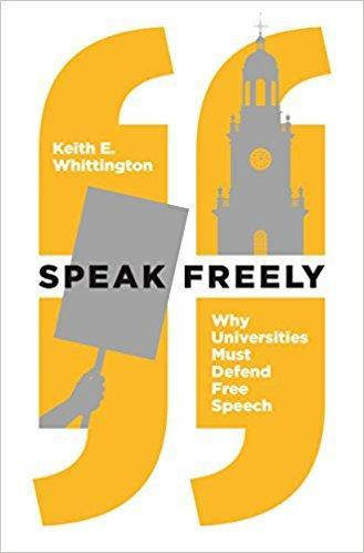 9780691181608 Speak Freely: Why Universities Must Defend Free Speech
