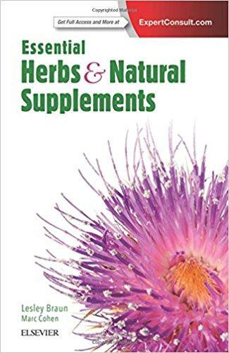 9780729542685 Essential Herbs & Natural Supplements