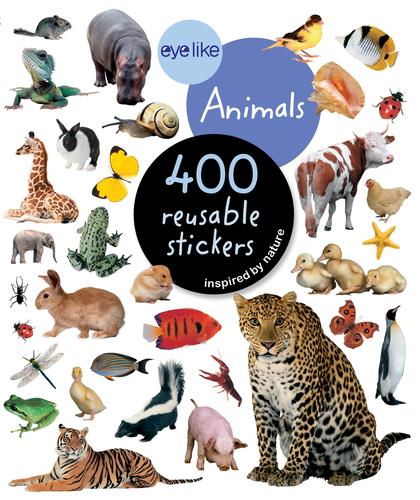 9780761169338 Eyelike Stickers: Animals