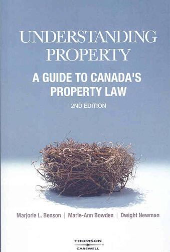 9780779813667 Understanding Property: A Guide To Canada's Property Law