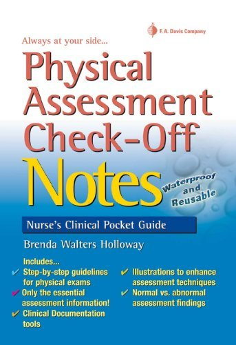 9780803629653 Physical Assessment Check-Off Notes