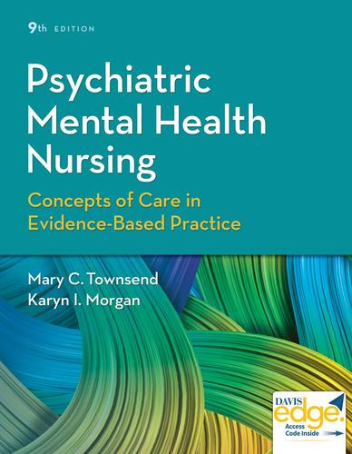 9780803660540 Psychiatric Mental Health Nursing: Concepts Of Care...