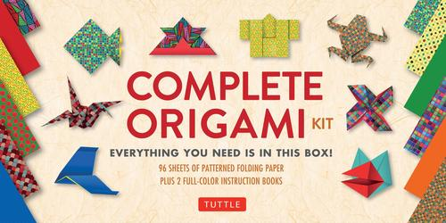 9780804847070 Complete Origami Kit: Everything You Need Is In This Box!