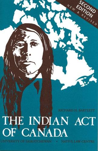 9780888802040 Indian Act Of Canada