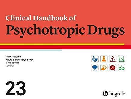 9780889375611 Clinical Handbook Of Psychotropic Drugs