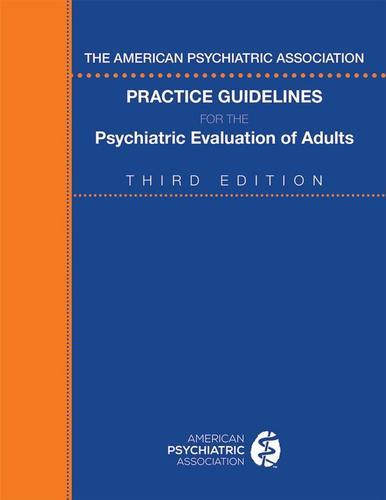 9780890424650 American Psychiatric Association Practice Guidelines For...