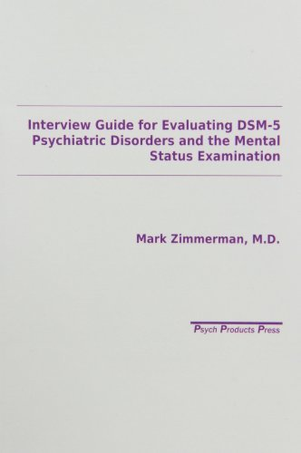 9780963382115 Interview Guide For Evaluation Of Dsm-5 Disorders...