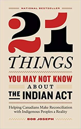 9780995266520 21 Things You May Not Know About The Indian Act