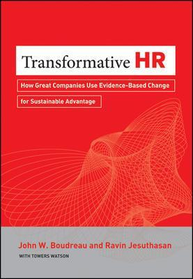 9781118036044 Transformative Hr: How Great Companies Use Evidence-Based...