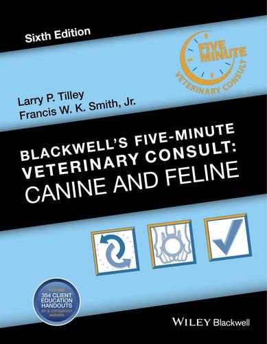 9781118881576 Blackwell's Five-Minute Veterinary Consult:  Canine & Feline