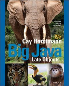 Big Java: Late Objects Looseleaf Edition